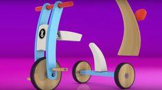 Zeichentrick für Kinder: Überraschungsei - Das Dreirad - Wir lernen die ...