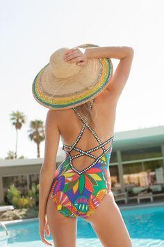 Trina Turk Swimwear Montezuma One Piece