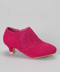 Look what I found on #zulily! Fuchsia Sparkle Molly Bootie by QQ Girl #zulilyfinds