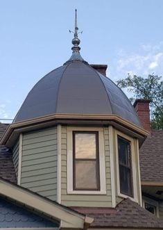 #ornamentalmetal We were happy to duplicate an 111-year-old original metal finial with our #custom manufacturing process.#metaldecor Tin Ceilings, Art Deco Fashion, Exterior Design, Home Remodeling, Outdoor Gear, Gazebo, Tent, Outdoor Structures, Ornaments
