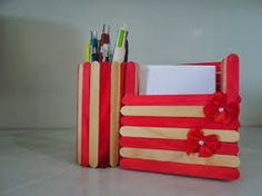 porta lápis artesanal - Pesquisa Google