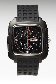 $135 D & G Square Mens Watch Black/Black - JackThreads: http://www.jackthreads.com/invite/tobytoby7