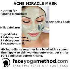 ACNE MIRACLE MASK..I don't have acne , but blemishes and get little bumps around my mouth and chin mostly . I'm going to try this mask out ..