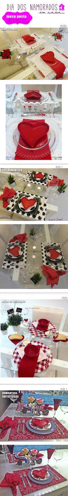 Tablescapes valentines day mesa posta para o namorado dia dos namorados decor table