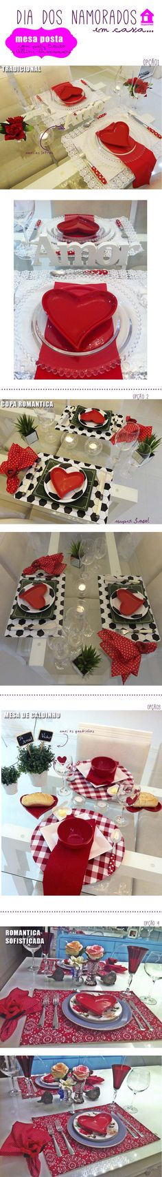 Tablescapes valentines day mesa posta para o namorado dia dos namorados decor table