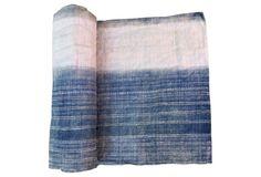 Indigo Batik Textile,    2.8 Yards