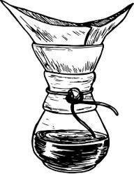 Image result for aeropress coffee maker pencil sketch