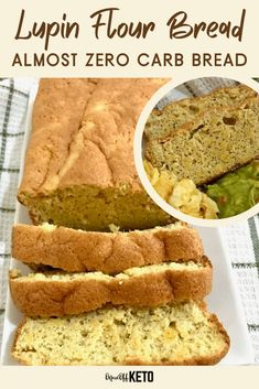 Lupin flour bread is a light, soft keto bread with amazing flavor! You've got to try this almost zero carb bread that fits perfectly in a ketogenic lifestyle. This low carb bread is not eggy but light and delicious. You'll make it for every keto snack and keto breakfast! #ketobread #zerocarbfoods #zerocarbbread #lowcarbbread #lupinflour #lupin #lupinbread Low Carbohydrate Diet, Low Carb Diet, Carbs In Coconut Flour, Seed Bread, Game Day Snacks, Ketogenic Lifestyle, Food Journal, Low Carb Bread, Dough Recipe