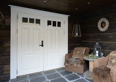 Tall Cabinet Storage, Garage Doors, Old Things, Rustic, Outdoor Decor, House, Furniture, Home Decor, Country Primitive