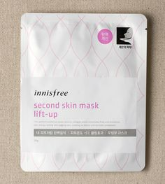 Second skin mask lift-up::A perfect fitting mask with collagen to help sagging…