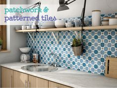 Splashback tile - Art range, pattern