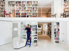 Bookworm-They Say If You Have A Whole Room for Books-Do It-Should I?  I Definitely Have The Books to Fit the Shelves!