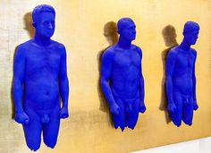 Yves Klein by Bearfaced, via Flickr