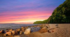 Sonnenuntergang an der Ostsee - Insel Rügen