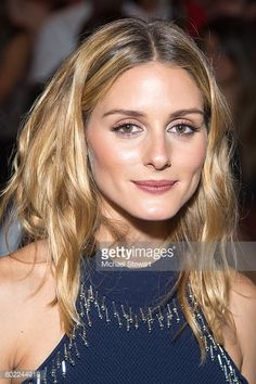 Olivia Palermo attend the Jonathan Simkhai fashion show during September 2016 MADE Fashion Week The Shows at The Arc Skylight at Moynihan Station on...