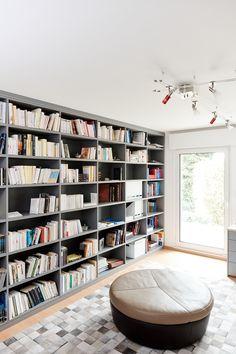 bibliothèque grise - Grijs Boekenkast - Gray library