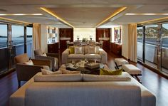 The Luxury Yacht Interior of the Princess yacht 15