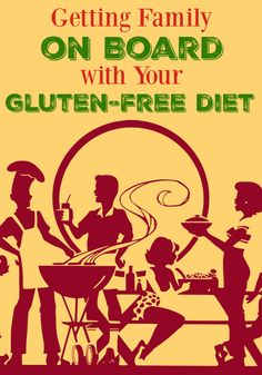 It's important that family understands the need for a gluten free diet. Here are 5 tips to help get family memebers on board with your gluten-free diet. Found at GlutenFreeHomemaker.com