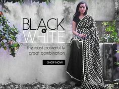 #colorsweek Let's know what each of the colors say! Starting with this Black & White combination, draw attention even in this simple and elegant saree. This combination is sophisticated, fashionable and widely accepted. Shop now https://www.ethniqdiva.com/collections/pure-linens/products/black-and-white-linen-saree-nas046 #Colors #blackwhite #linen #elegant #saree #ethniqdiva