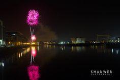 Fireworks Belfast Docks