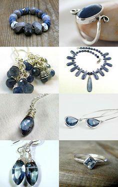 My Mystic Blue Marquis Necklace featured with beautiful JET blues! #designsbycher #jewelryonetsy https://www.etsy.com/treasury/MjYxNzA5NjZ8MjcyNjEzMDg5Mg/4-jet-team-blue-world