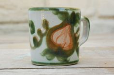 Vintage 70s Louisville Stoneware Harvest Cup by SycamoreVintage