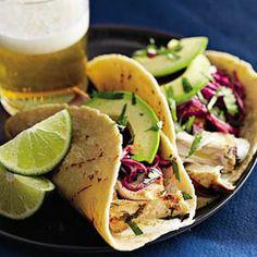 Slimming Superfood Recipe: Tequila-Lime Mahi-Mahi Tacos