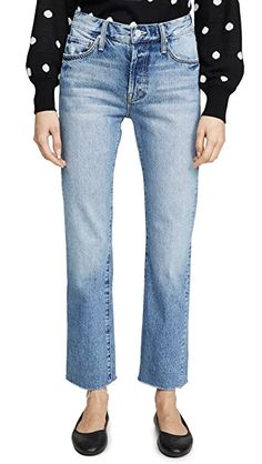 MOTHER The Scrapper Cuff Ankle Fray Jeans | SHOPBOP