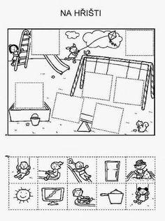 Z internetu - Sisa Stipa - Picasa Web Albums English Worksheets For Kids, Preschool Learning, Kindergarten Worksheets, Preschool Activities, Teaching, Summer Activities For Kids, Cut And Paste, Kids Education, Pre School