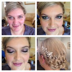 One of our stunning bridal parties. Hair n Makeup by Wye  Hair & Makeup enquiries :  Weddings@wyecosmetics.com.au 1300 993 267