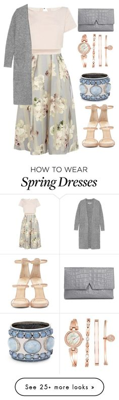 """Spring"" by fauxxxfur on Polyvore featuring Coast, Giuseppe Zanotti, By Malene Birger, Anne Klein, Chico's, Vince, women's clothing, women's fashion, women and female"