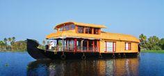Kerala Boat House, Inde
