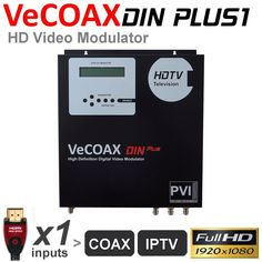 ProVideoInstruments - 1 HDMI Wall Mount RF Modulator, Click Here for Info (http://www.pvistore.com/1-hdmi-wall-mount-rf-modulator/)