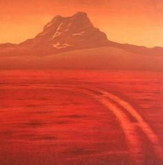 """""""Another Sunrise"""" lito by Eva Harr, Norway Great Artists, Norway, Sunrise, Illustration Art, Public, Mountains, Nature, Pictures, Travel"""