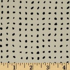 Portland Challis Dot White/Black from This polyester fabric has a beautiful fluid drape and soft hand. It is perfect for creating shirts, blouses, gathered skirts and flowing dresses with a lining. Colors include black and ivory. Chiffon Fabric, Fabric Patterns, Sewing Patterns, Sewing Crafts, Sewing Projects, Create Shirts, Tiny Prints, Fabulous Fabrics