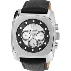 DOWNTOWN X88001-637 Chronograph, Watches, Accessories, Watch Straps, Sport Watches, Leather, Blue Nails, Men, Wristwatches