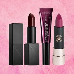 The 11 Best Plum Lipsticks for Fall 2017 Dark Purple Lip Colors Source by lanellpedoneklre Hair makeup lips Cool Skin Tone, Colors For Skin Tone, Lip Gloss Colors, Lip Colors, Purple Colors, Nyx, Dark Purple Lips, Dark Plum Lipstick, Plum Purple