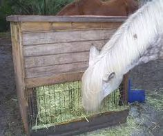 plans for a horse hay feeder - Google Search