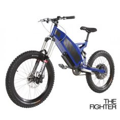 Stealth Fighter Electric Bike