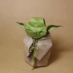 """Origami Yoda by Fumiaki Kawahata. I need DIY instructions. """"...Origami Yoda"""" is my son's favorite book."""