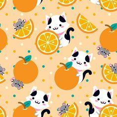 Orange is the new Cat! (♡ ゚ ▽ ゚ ♡) – Laranja é o novo Gatinho! (♡ ゚ ▽ ゚ ♡)