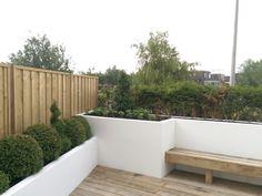 Lounge tuin met vlonder - Project