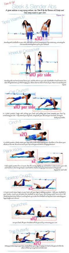 Ab Circuit via Tone It Up