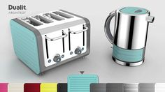 Dualit | Architect toaster and kettle