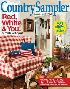 country sampler decorating ideas on pinterest country