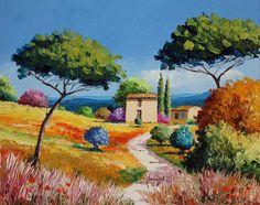 JM JANIACZYK - Way in Provence.