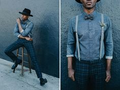 Alternative Groom's outfit - mixed textures and colours