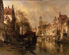De Oude Hoofd te Hoorn, Johannes Christiaan Karel Klinkenberg. Dutch (1852-1924)