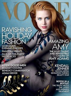 Amy Adams estará en la portada de Vogue