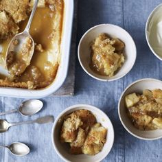 Butterscotch apple pudding - a Rachel Allen recipe